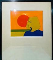 Maeyens Emile-( francia-belga festő) -Eternité , serigráfia