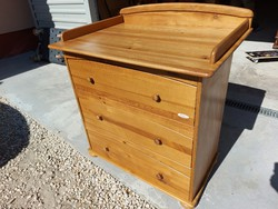 For sale a 3 drawer troll diaper - pine chest of drawers. Furniture is beautiful, in new condition and very good quality
