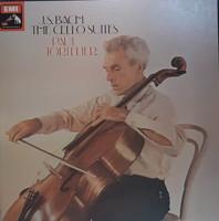 Paul tortelier cello bach the cello suites 3 lp vinyl record vinyl