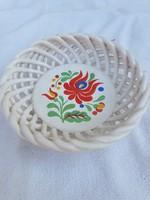 Ceramic openwork basket for sale!