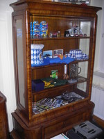 Art deco sideboard, showcase, chest of drawers