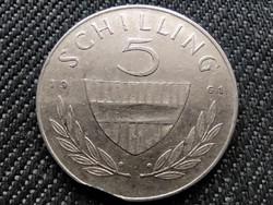 Ausztria .640 ezüst 5 Schilling 1961 (id36017)
