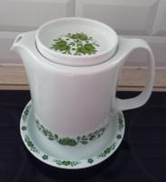 Lowland porcelain green Hungarian jug