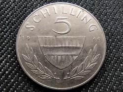Ausztria .640 ezüst 5 Schilling 1960 (id36015)