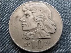 Lengyelország 10 Zloty Tadeusz Kosciuszko 1970 MW (id33693)