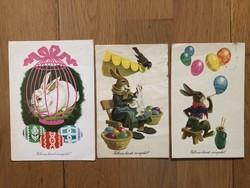 Aranyos Húsvéti képeslapok - Gönczi Tibor rajz -  ár / db