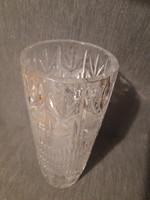 Beautiful lead crystal vase
