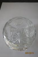 Üveg kínáló gömb forma 885 g