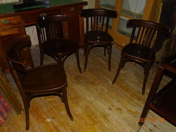 4 pcs !!! Thonet nature chair armchair armchair