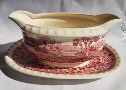 From 1 HUF! Villeroy & boch rusticana sauce, bottom damaged, photographed!