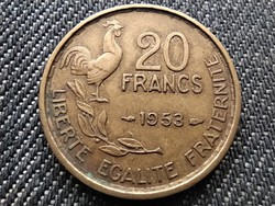 Franciaország Negyedik Köztársaság (1945-1958) 20 frank 1953 (id29238)