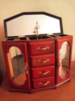 Music jewelry box, jewelry box, works