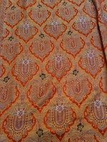 Old huge dazzling tablecloth fabric