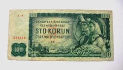 CSEHSZLOVÁKIA - 100 Korún - 1961