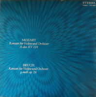 Yehudi menuhin mozart and brucht violin lp vinyl record vinyl