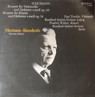 Schumann concerts - tortelier, wührer lp vinyl record vinyl