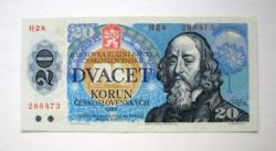 CSEHSZLOVÁKIA - 20 Korún - 1988