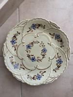 Zsolnay cornflower pattern wall plate