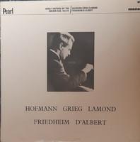 Great virtuoso of the golden age - rare pianist lp vinyl record vinyl