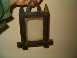 Antique picture frame looks old antique retro, etc. It looks like a holy picture holder I don't know miez sale