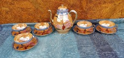 Chinese eggshell porcelain set for 4 people