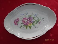 Hollóház porcelain table center, marking 796. Vanneki!