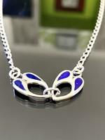 Special silver necklace