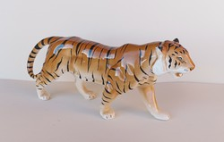 Large porcelain tiger