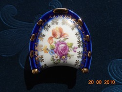 Dresden with bouquet of flowers, martinroda East German jewelry holder