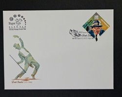 2015 Frank Sinatra bélyeg a Fred Astairet ábrázoló és visszavont FDC-n
