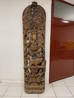 India Ganesha fali fa szobor