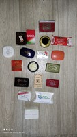 Various rare mini / hotel soaps 18 pieces together
