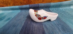 Porcelain hand painted slippers