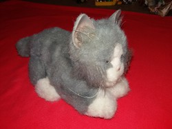2002 Hasbro tiger electronics furreal friends gray kitten cat moans purring according to the pictures