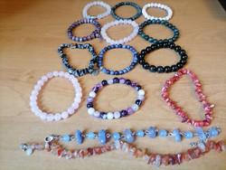 Mineral stone bracelets