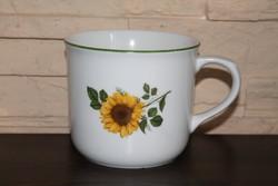 Bohemia Czech sunflower big mug