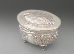 Silver etrog holder (Judaica)