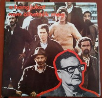 Their voices could not be killed (in memory of the Chilean patriots) vinyl lp (70s)