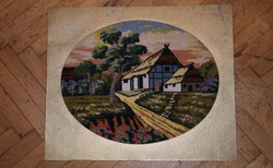 Large (57x47 cm) tapestry intact