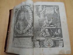 Pápai Páriz Ferenc Latin-magyar és Magyar-latin szótára 1767