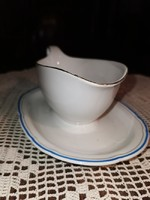 Antique, sauce spout, 19th Century, monarchical, intact
