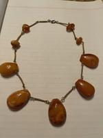 Very nice original amber chain for sale Price: 39000.-