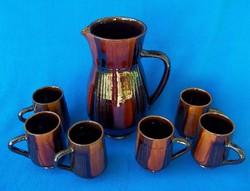 Ceramic wine set