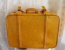 Retro suitcase with key