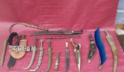 Antik fegyver gyüjtemény. Keleti, arab.