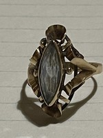 Showy old 14kr topaz gold ring for sale Price: 40000.-