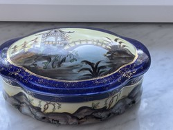 Antique beautiful alt wien porcelain candy holder