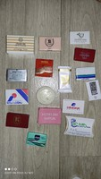 Various vintage rare mini / hotel soap 16 pieces together