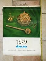 1979 Es malév wall calendar