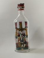 Antique patient glass